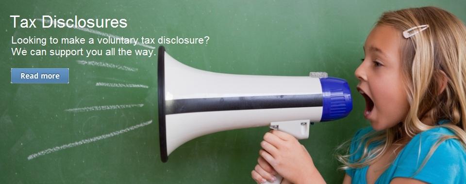 Tax Disclosure